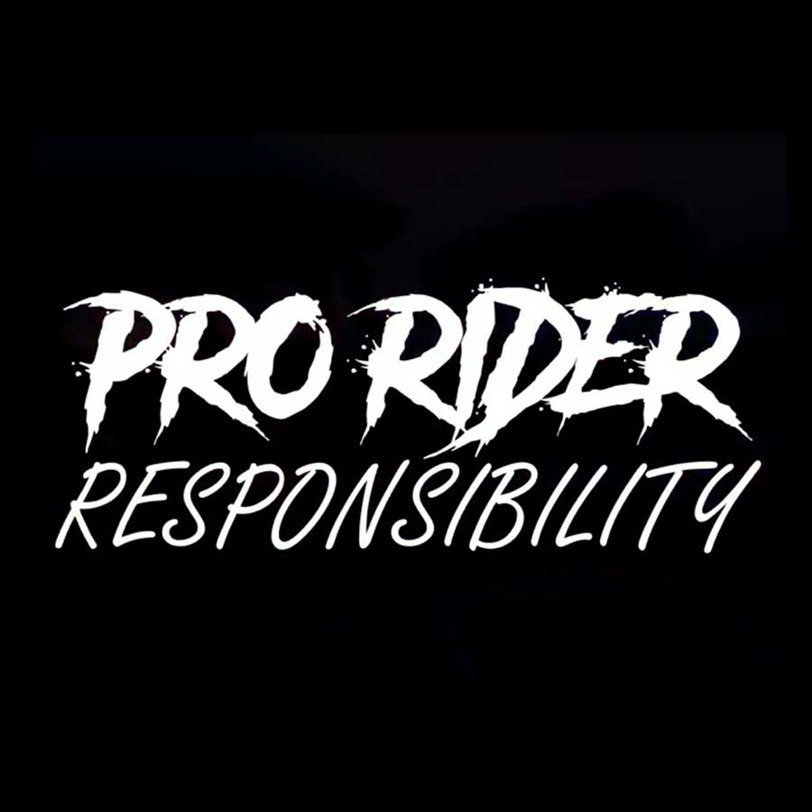 Video - Pro Rider Responsibility by Matt Hocopan