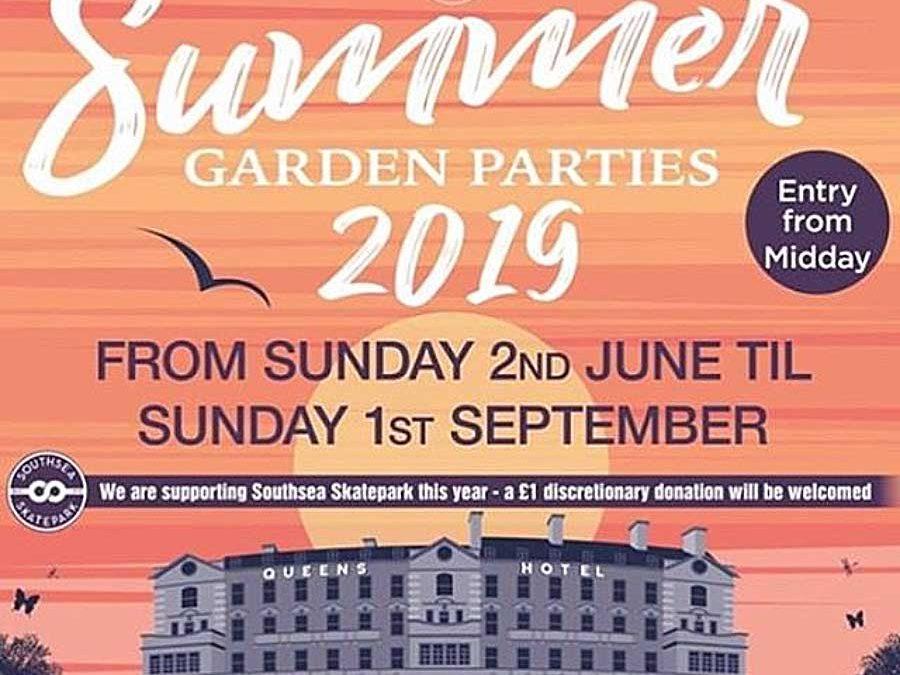 The Queens Hotel - Summer Garden Parties 2019