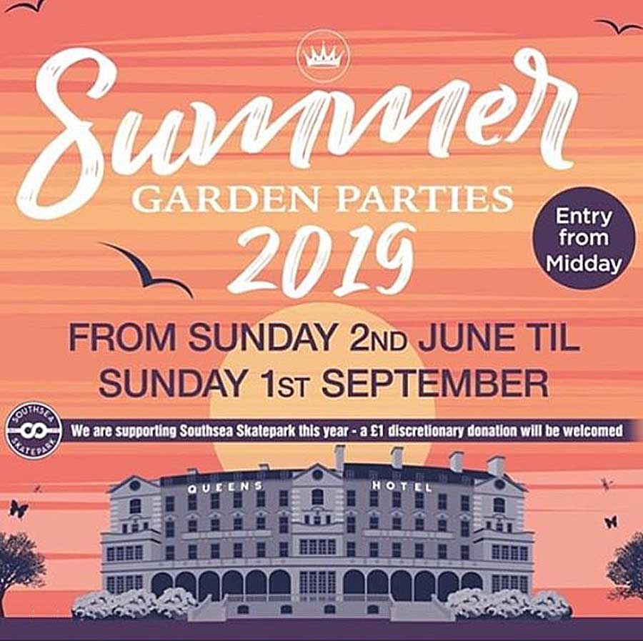 The Queens Hotel - Summer Garden Parties 2019