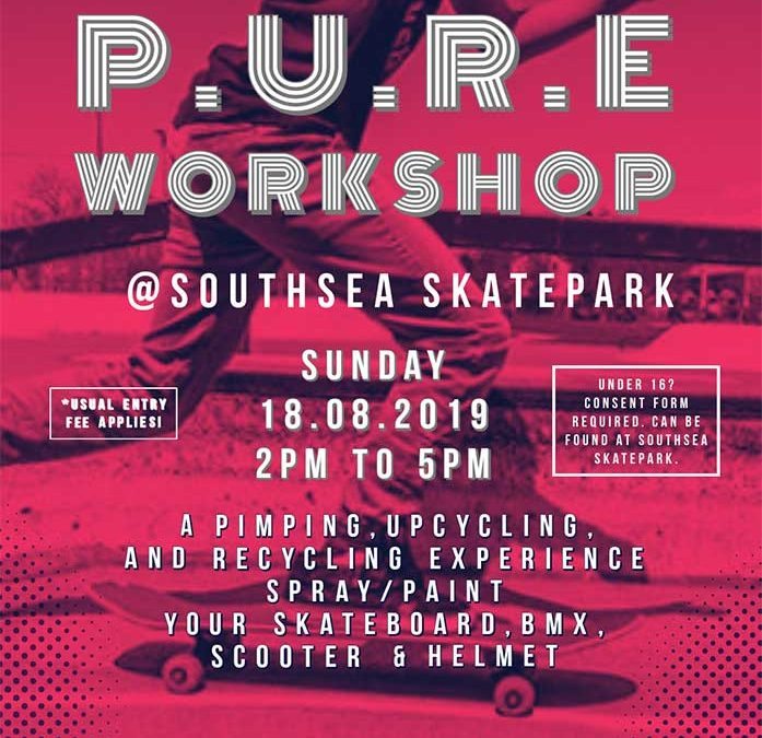 PURE Workshop at Southsea Skatepark