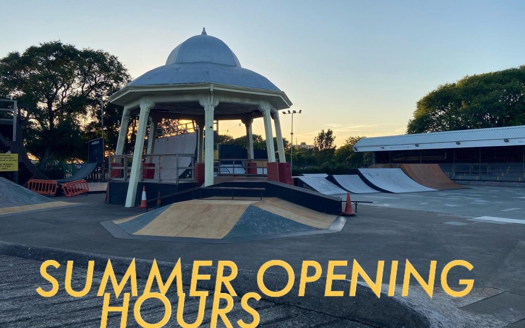 Opening hours from Sunday 26th July – Pre-booking only