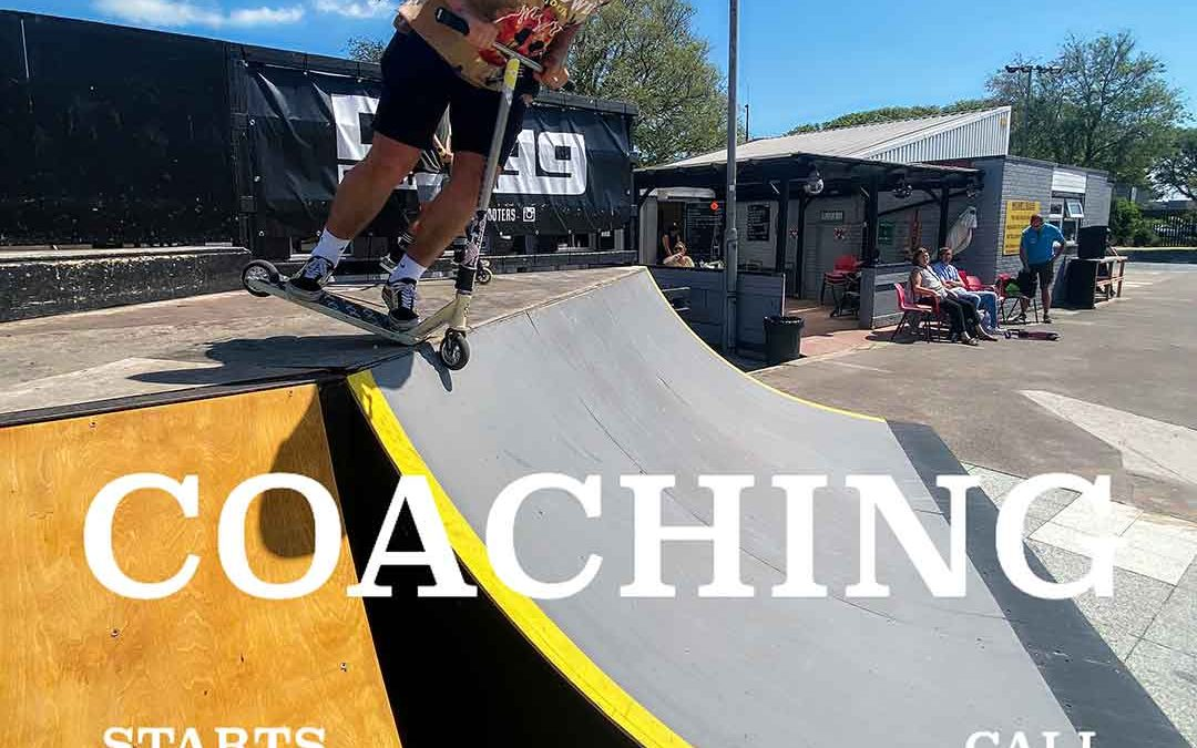 Scooter coaching at Southsea Skatepark!